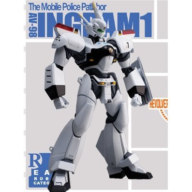 Revoltech Series No. 010 - The Moblie Police Patlabor Non-Scale Action Figure: Ingram 1 (Re-Run)