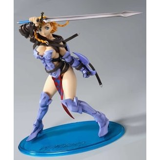 Queen's Blade 1/8 Scale Pre-painted PVC Figure - Ruro no Senshi Reina Figure