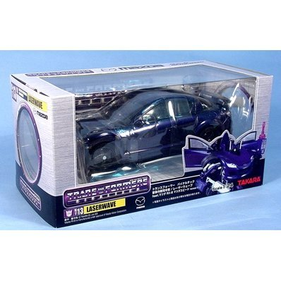 Transformers Binaltech Action Figure 1:24 Scale - BT 13 Laserwave Feat