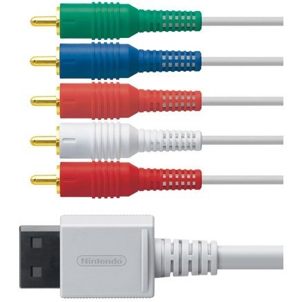 Wii Component AV Cable [ W/O package ]