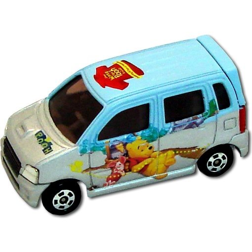 Tomica Collection: D-04 Pooh Suzuki Wagon R RR (1/56 Scale)