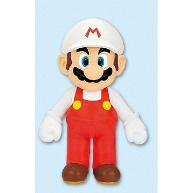 DX Super Mario Characters Sofubi Figure: Fire Mario