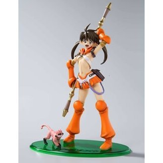 Queen's Blade 1/8 Scale Pre-painted PVC Figure - Mori no Bannin Nowa Figure