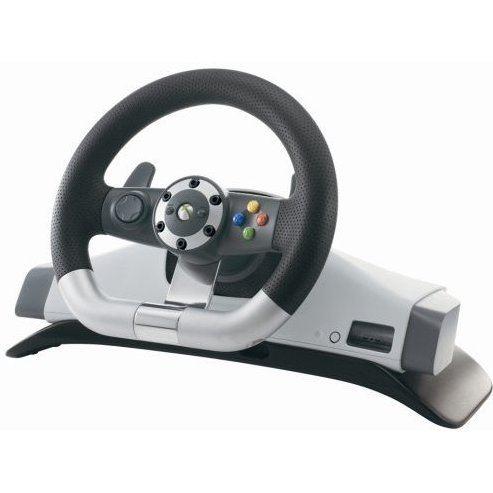 Xbox 360 Wireless Racing Wheel  Microsoft PA.78407.001