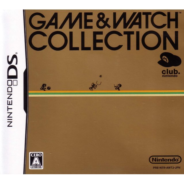 Game & Watch Collection [Club Nintendo Limited Edition]