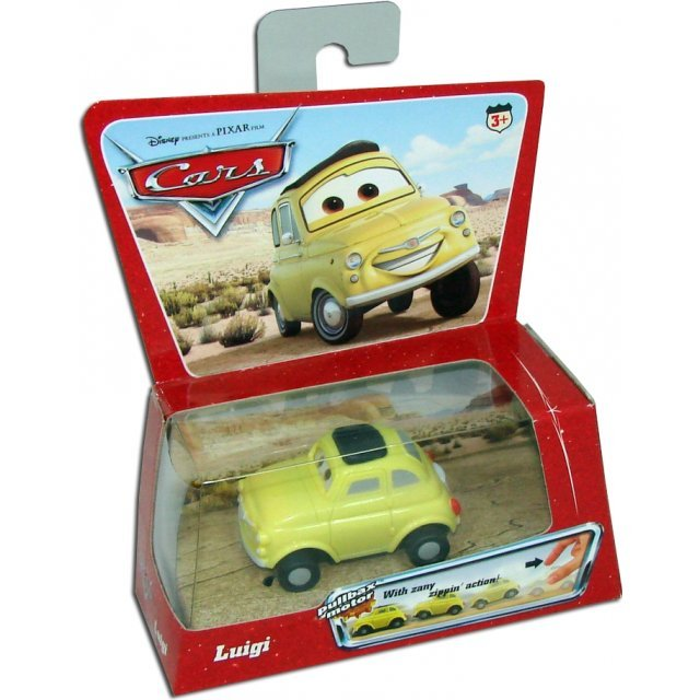 Disney Presents A Pixar Film Cars - Luigi Pullbax Motor