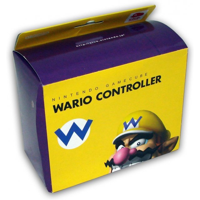 Game Cube Controller - Wario Design [Club Nintendo Limited Edition]