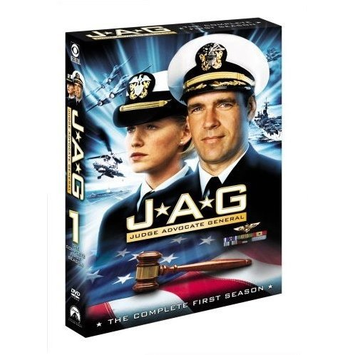 Jag Judge Advocate General Season 1 DVD Box