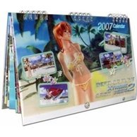 Dead or Alive Xtreme 2 Calendar 2007