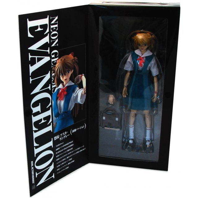 Neon Genesis Evangelion 1/6 Scale Pre-painted PVC Figure: Sohryu Asuka Langley (Real Action Heroes)