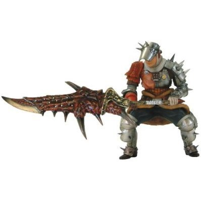 Monster Hunter Pre-painted PVC Figure - Swordsman A Set
