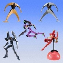 Ultimate Action Evangelion Gashapon Part 2