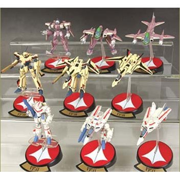 Macross Variable Fighters Collection 1/200 Scale Pre-Painted Trading Figure Series 1