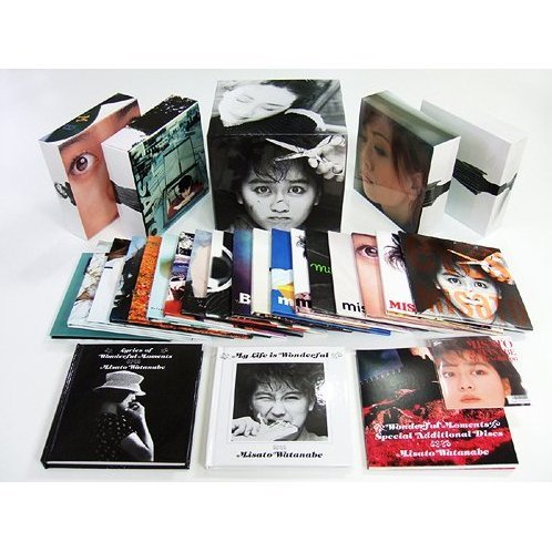 Misato Watanabe 25th Anniversary Album Box - Wonderful Moments 25th [20Mini LP+1DVD Limited Edition]