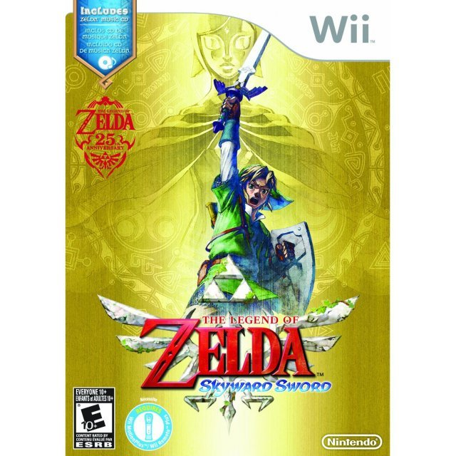 The Legend of Zelda: Skyward Sword (w/ CD Gift)