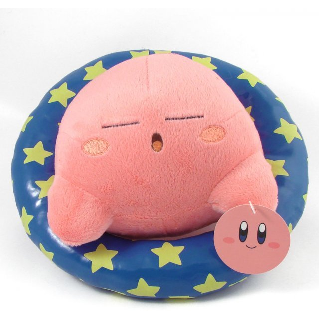 Kirby Summer Plush Doll: Sleeping Kirby