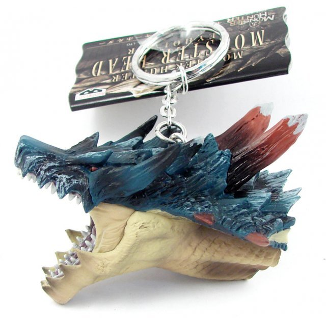 Banpresto Monster Hunter Head Key Chain: Lagiacrus