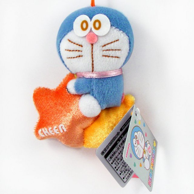 Doraemon Heartydora  Mascot Mini Plush Doll: Dora Cheer