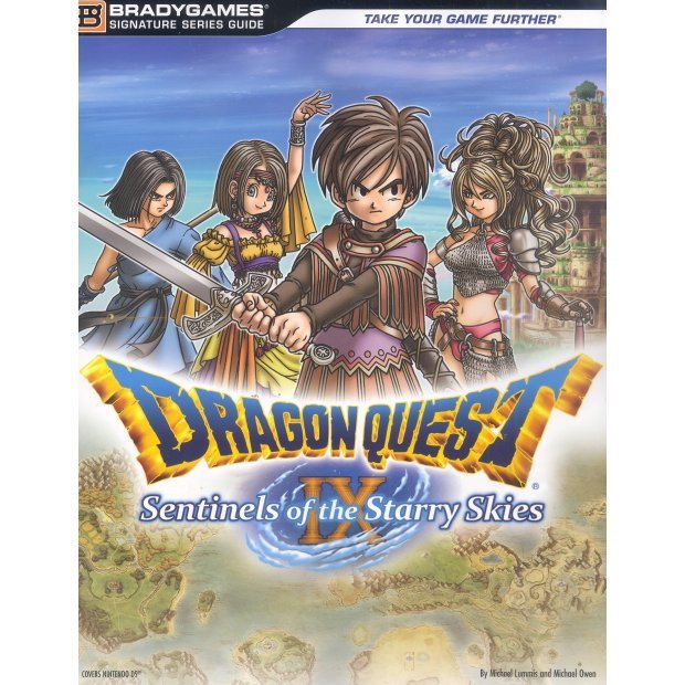 Dragon Quest IX: Sentinels Starry Sky Official Strategy Guide