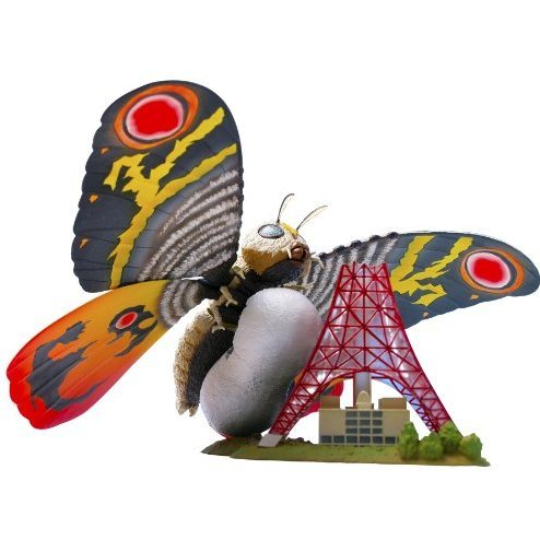 SCI-FI Revoltech Series No.0012  Pre-Painted Figure: Mothra
