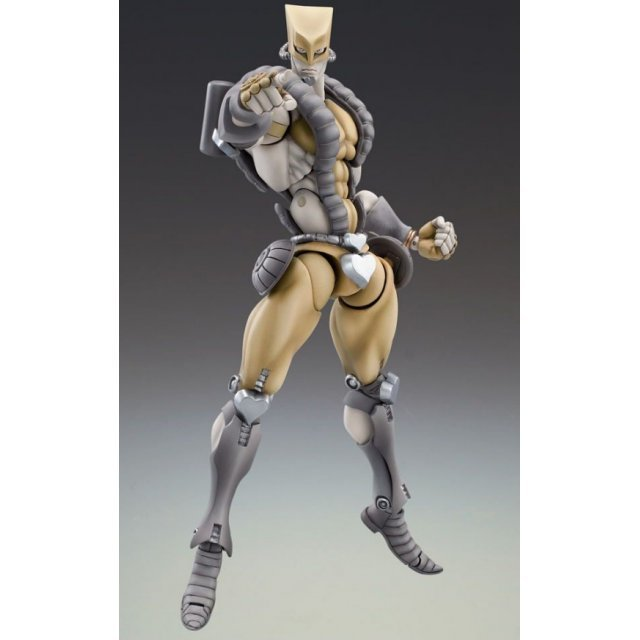 Super Figure JoJo's Bizarre Adventure Part 3 #19 Non Scale Pre-Painted PVC Figure: The World 3 Sand Ver. (Hirohiko Araki Specify Color)