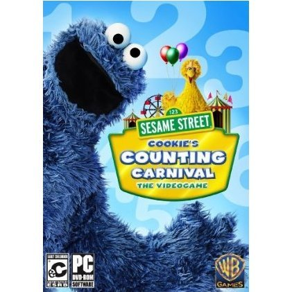 Sesame Street: Cookie's Counting Carnival  (DVD-ROM)