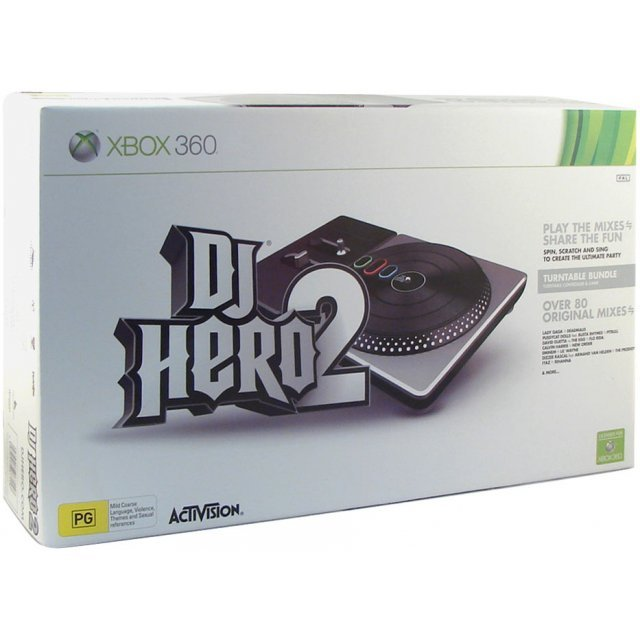 DJ Hero 2 (Turntable Bundle)