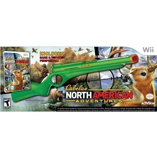 Cabela's North American Adventures (w/ Gun)