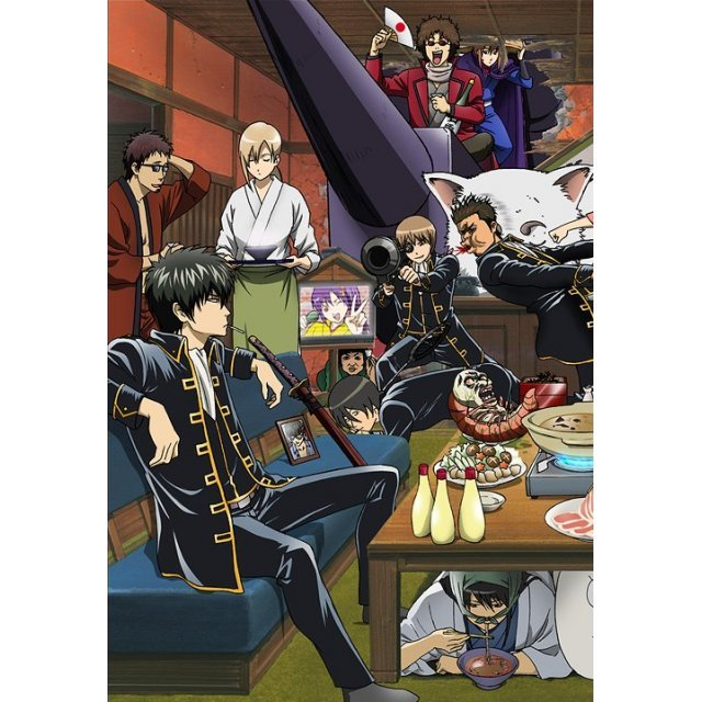 Gintama Season 4 Vol.12 [DVD+CD Limited Edition]