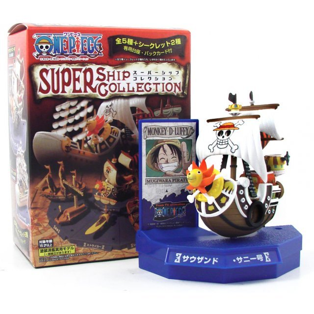 One Piece Super Ship Collection Non Scale Pre-Painted Trading Figure
