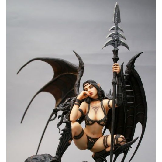 Fantasy Figure Gallery  Non Scale Pre-Painted Resin Figure: Black Tinkerbell Advance Release Ver.