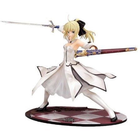 Fate/unlimited codes 1/7 Scale Pre-Painted PVC Figure: Saber Lily (Golden Caliburn)