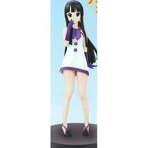 K-ON! Non Scale Pre-Painted PVC Figure Vol.2: Akiyama Mio PV Costume Ver.