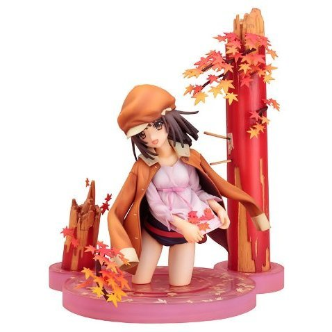 Bakemonogatari 1/8 Scale Pre-Painted PVC Figure: Sengoku Nadeko (Re-run)