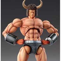 Super Figure Kinnikuman Non Scale Pre-Painted PVC Figure: Buffalo Man 1P