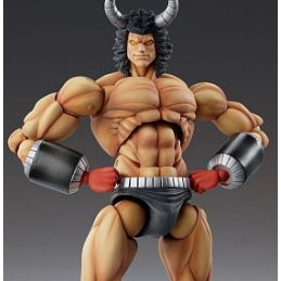 Super Figure Kinnikuman Non Scale Pre-Painted PVC Figure: Buffalo Man 2P