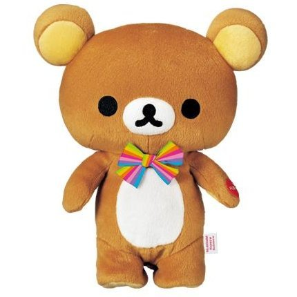 Rainbow Rilakkuma Plush Doll:  Walking Rilakkuma