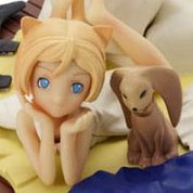 Cat Girls in Schrodinger`s House Non Scale Pre-Painted PVC Figure: Ypres Maeterlinck