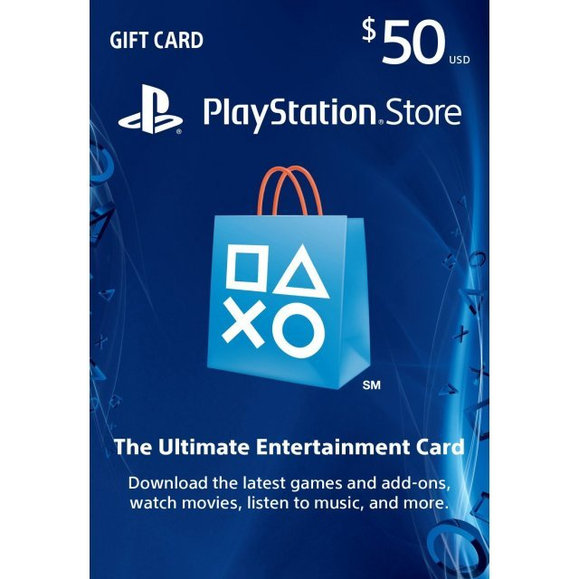 Playstation Network Card 50 USD | USA Account