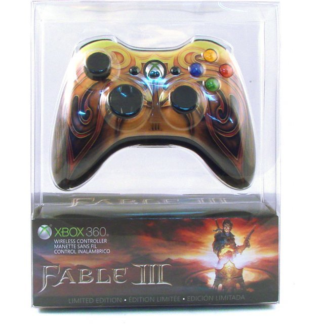 Fable III Xbox 360 Wireless Controller Limited Edition