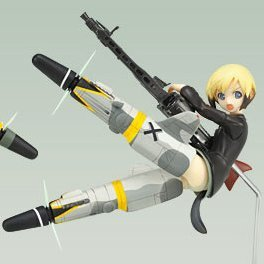 Strike Witches EX Non Scale Pre-Painted PVC Figure Vol.2: Erica Hartmann
