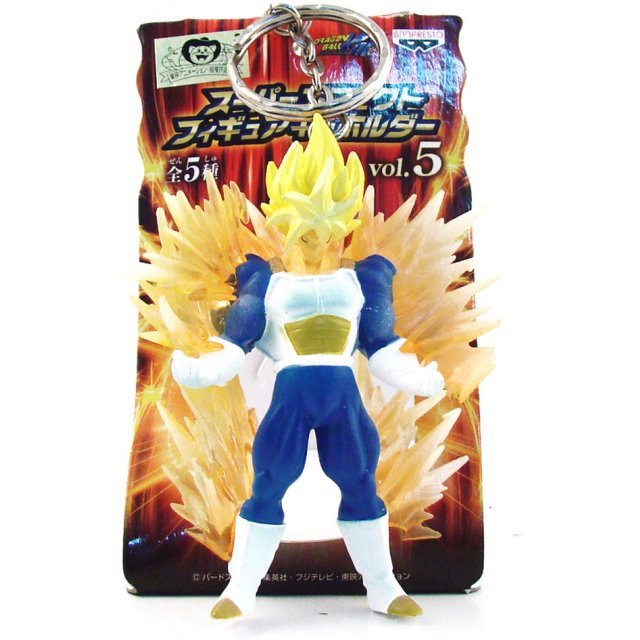 Banpresto Dragon Ball Kai Super Effect Pre-Painted PVC Figure Key Chain Vol.5: Son Goku