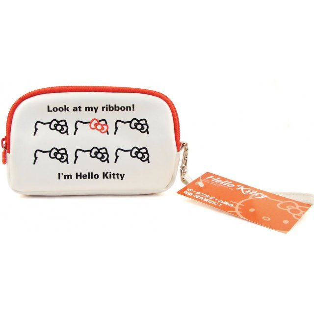 Hello Kitty Pouch (White)
