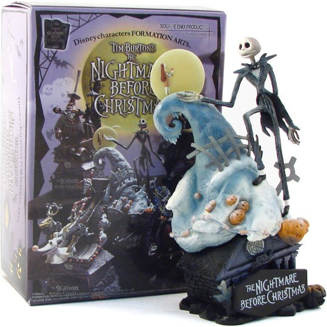 The Nightmare Before Christmas Formation Arts Pre-Painted PVC Trading Figure