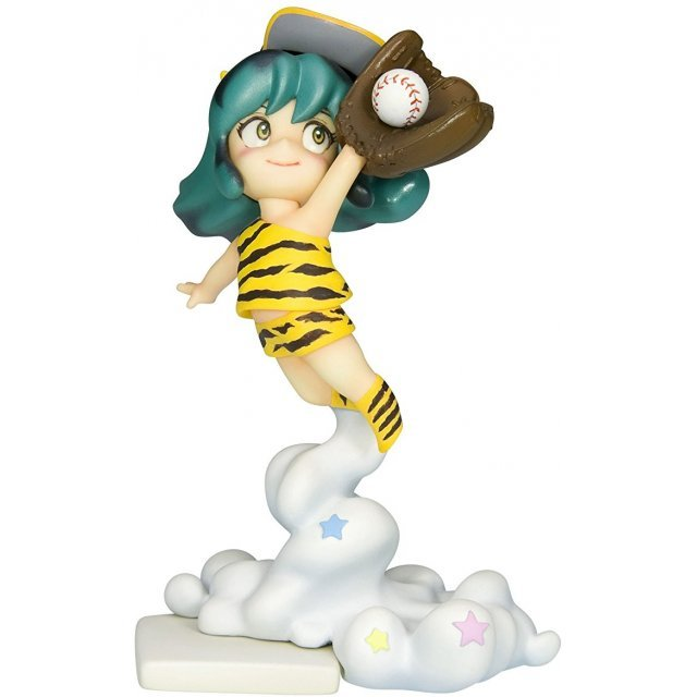 Urusei Yatsura  Non Scale Pre-Painted PVC Figure: Hanshin Tigers Child Lum-chan Catch Ver.