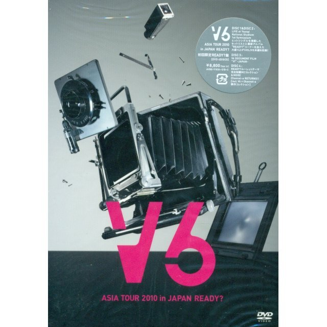 V6 Asia Tour 2010 In Japan Ready - Ready Ver. [Limited Edition Jacket A]