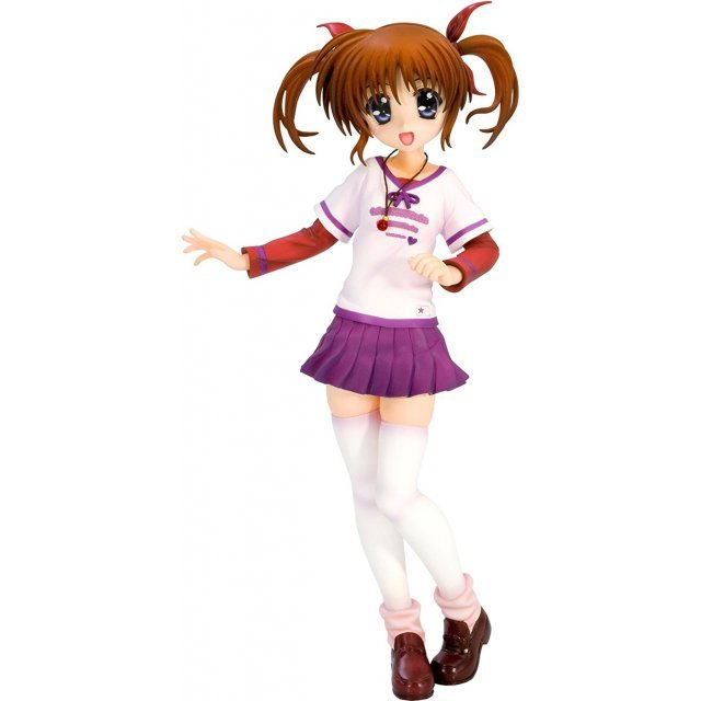 MAGICAL GIRL LYRICAL NANOHA THE MOVIE 1ST 1/8 SCALE PRE-PAINTED PVC FIGURE: NANOHA TAKAMACHI CASUAL WEAR VER