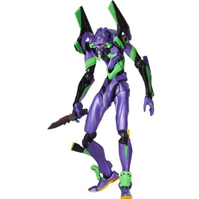 Revoltech Series No. 067 - Neon Genesis Evangelion: Rebuild of Evangelion Pre-Painted PVC Figure: Eva Test Type-01 New Movie Edition Lawson Special Package Edition