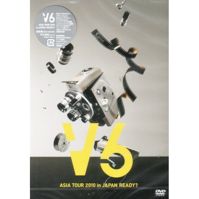 V6 Asia Tour 2010 In Japan Ready [Jacket C]