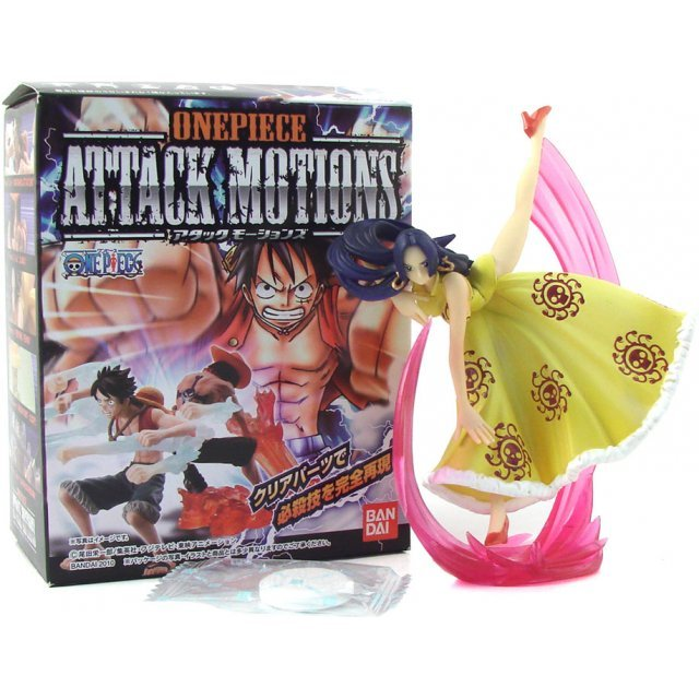 One Piece Attack Motions Pre-Painted Candy Toy
